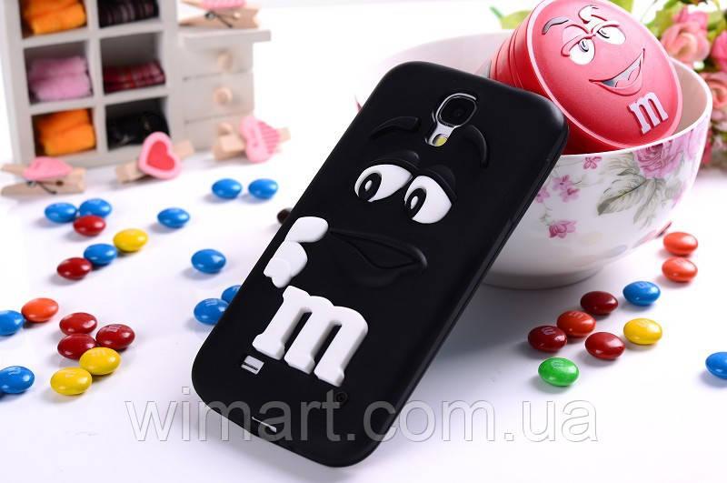 Чехол M&M's для Samsung Galaxy S4 I9500 черный