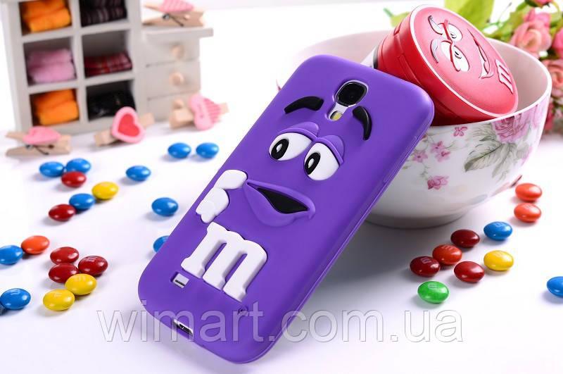 Чехол M&M's для Samsung Galaxy S4 I9500 фиолетовый