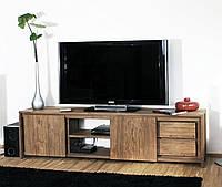 Тумба под телевизор из дерева 018