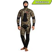 Гидрокостюм камуфляжный Marlin Camoskin Green 9мм