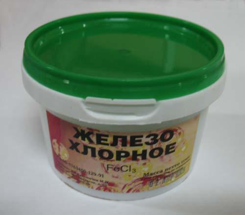 Железо хлорное  FeClз 500г.