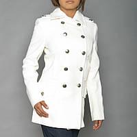 Пальто женское Ladies Wool Long Peacoat Alpha Industries (белое)
