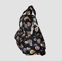 Рюкзак середній принтований