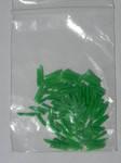 Клинья зеленые №2 (100шт) пластмассовые