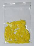 Клинья желтые №3 (100шт) пластмассовые