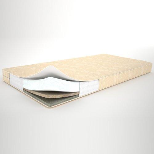 Матрас ортопедический Лен-Кокос-Холлофайбер 10 см. (120х60) от Lux baby для детской кроватки