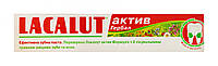 Зубная паста Lacalut  Aktiv herbal профилактическая защита от кариеса - 75 мл.