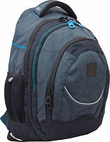 Рюкзак подростковый YES!  Т-14 Carbon, 46.5*33*15см