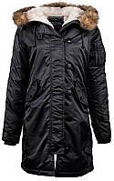 Женская куртка Elyse Parka Alpha Industries (черная), фото 1