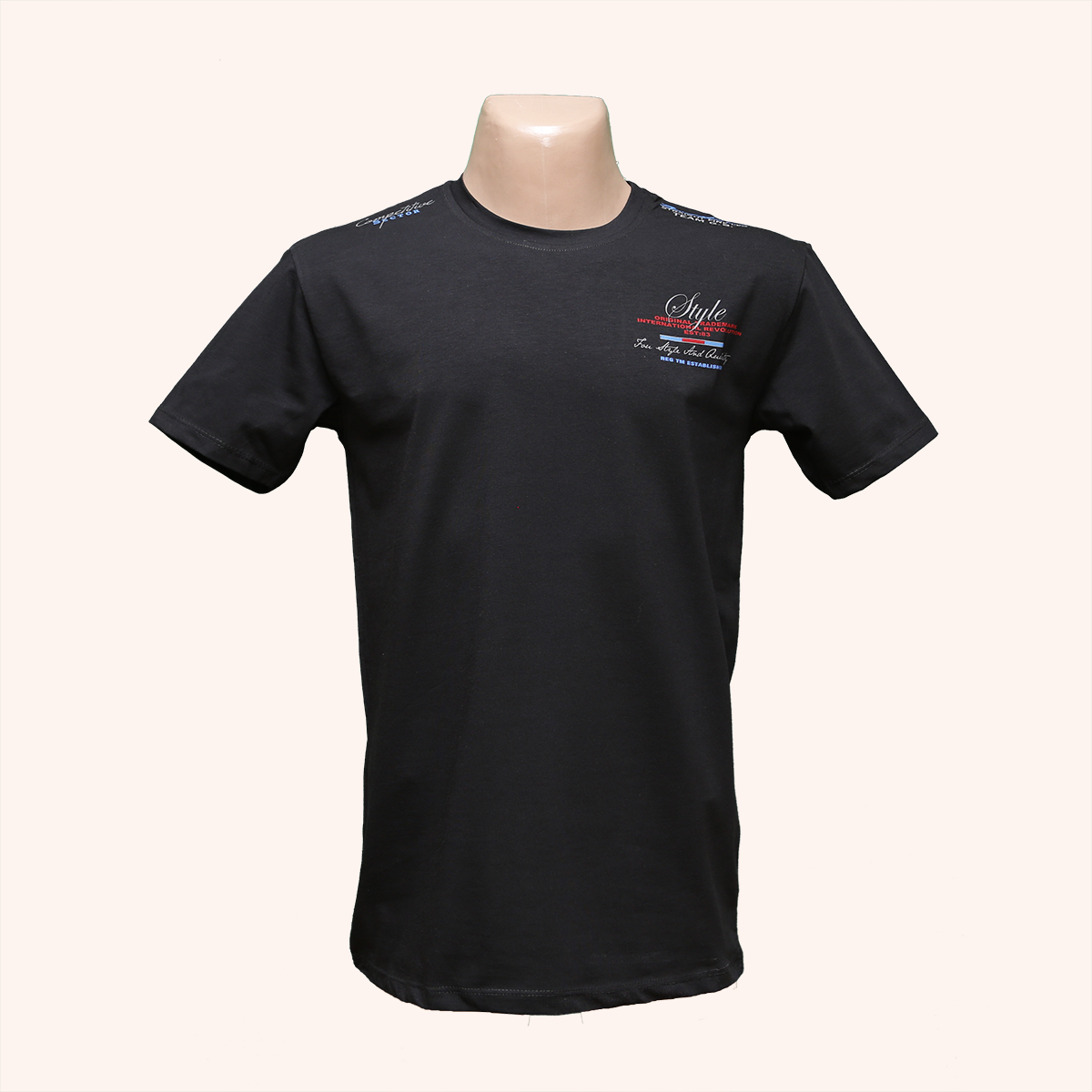 Мужская стрейчевая футболка Lycra тм. BY Walker. пр-во Турция 4046-6