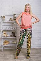 Костюм летний женский с брюками , фото 1