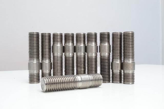 Шпильки с ввинчиваемым концом длиной 2d ГОСТ 22038-76, DIN 835   Фотографии принадлежат предприятию Крепсила