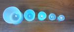 Силиконовые чашки для замешивания акрила M