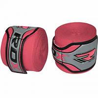 Бинты боксерские RDX Fibra Pink