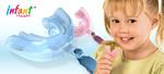 Трейнер преортодонтический Infant (жесткий голубой )