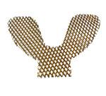 Решетка (сетка) укрепляющая позолот. для нижней челюсти