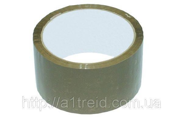 Лента клейкая 48 мм х 50 м, коричневая , фото 2