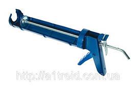Пистолет для герметика полуоткрытый металлический