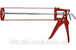 Пистолет для герметика скелетный металлический