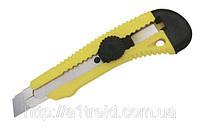 Нож с фиксатором оборотным, 18 мм