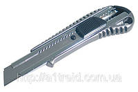 Нож для ремонтных работ уплотненный металлический, 18мм