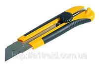 Нож универсальный с оборотным фиксатором 25мм