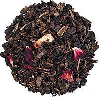 """Чай зеленый ТМ """"Чайна Країна"""" Земляничный с ароматом сливок"""