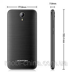 Смартфон HomTom HT3 1+8Gb Blue, фото 3