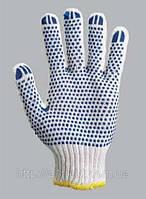 Перчатки вязанные с двусторонним вкраплением, L, (580), (Украина)