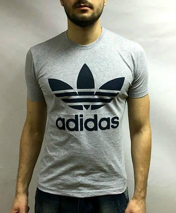 Adidas футболка, большой принт, фото 2
