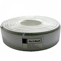 TV кабель коаксиальный 75 Ом FinMark 690 white (100 м)