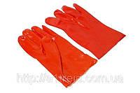 Перчатки резиновые маслостойкие 27см