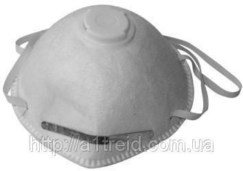 Маска защитная с клапаном, 3шт., фото 2