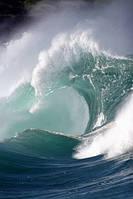 """Фотообои """"Большие волны"""", Фактурная текстура (холст, иней, декоративная штукатурка)"""