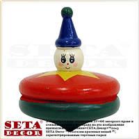 Деревянная игрушка Юла (Волчок) диаметр 5 см