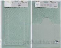 Набор ковриков в ванну Arya TR1001008 Assos водянисто-зеленый