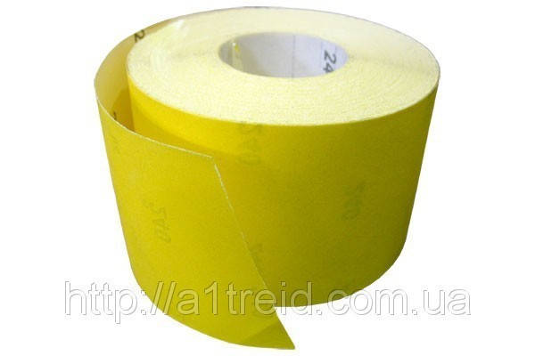 Бумага наждачная на бумажной основе, 115 мм х 50 м, зерн. 40 , фото 2
