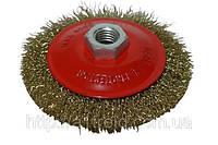 Щетка-крацовка круговая, латунная, 100 мм