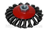 Щетка-крацовка круговая закрученная 125 мм