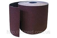 Бумага наждачная на тканевой основе, водост., 200мм х 50м, зерн. 80
