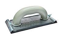 Терка для шлифования 100х220 мм с резин. подкл., резьб. крепл.  (Украина)