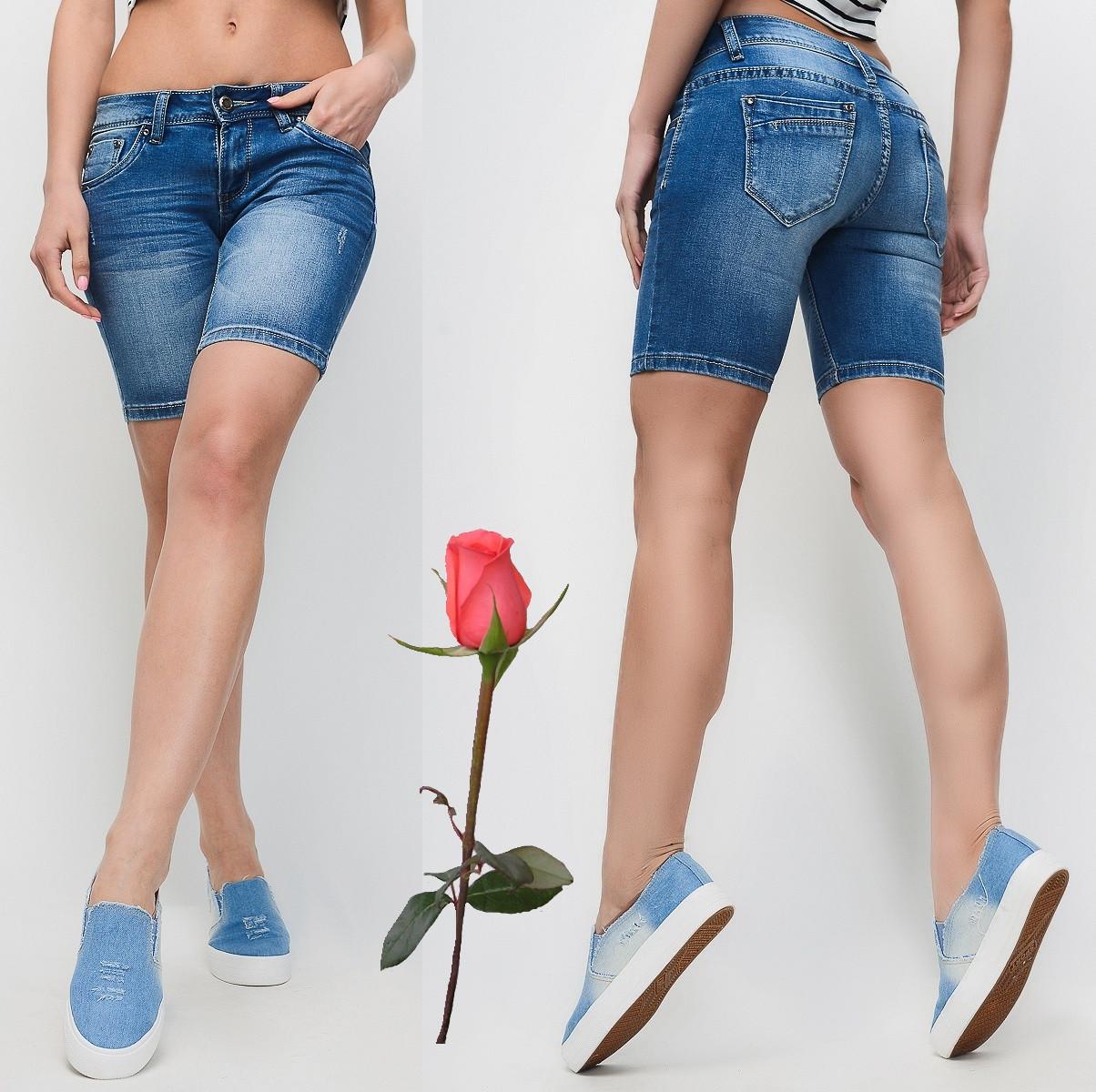 Классические джинсовые шорты  GT 21473