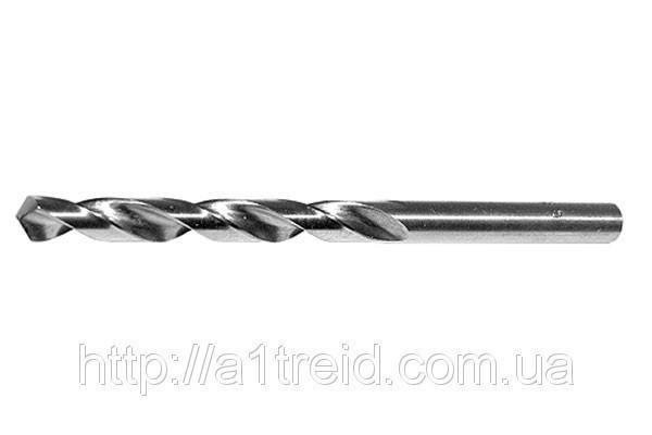 Сверло 3,5 с ц/х., ср. серия, сталь Р6 м5 А1 (Украина) , фото 2