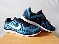 Кроссовки Nike free flyknit 3.0 р-р 43-45 Roshe Run 2016  adidas reebok найк вязаные