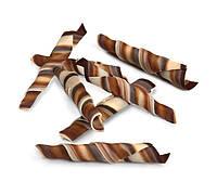 Шоколадные изделия сверток Твистер Мрамор бело-черный шоколад