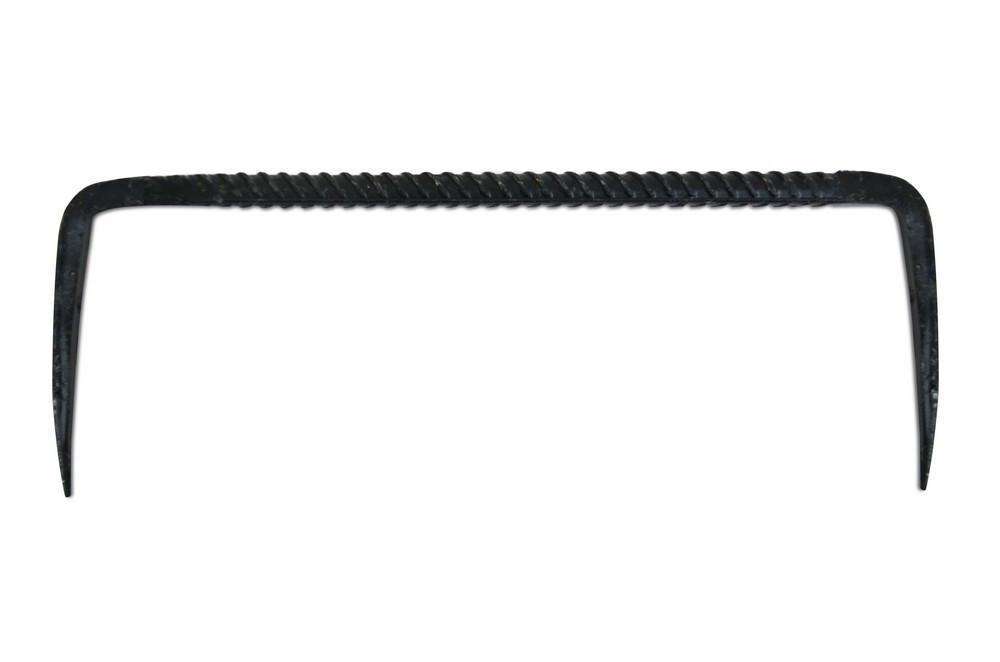 Скоба строительная круглая 25х12 см (Украина)