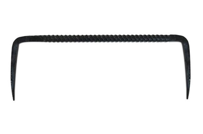 Скоба строительная круглая 25х12 см (Украина) , фото 2