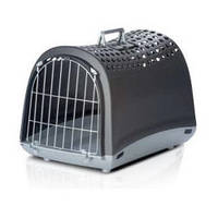 Imac Linus АЙМАК ЛИНУС переноска для собак и кошек 50х32х34,5 см (темно-серый)