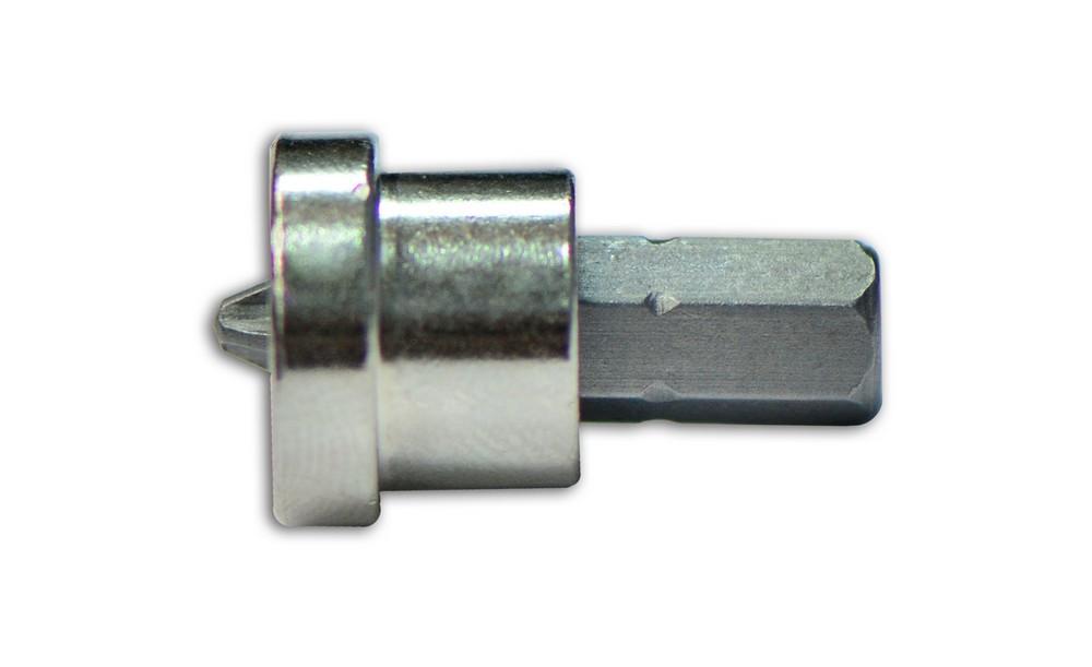 Набор насадок с ограничителем по гипсокартону, PH2, 10 шт., 25 мм