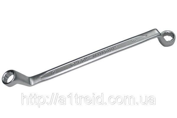 Ключ гнуто-накидной Cr-V, Konner, 10x11 мм